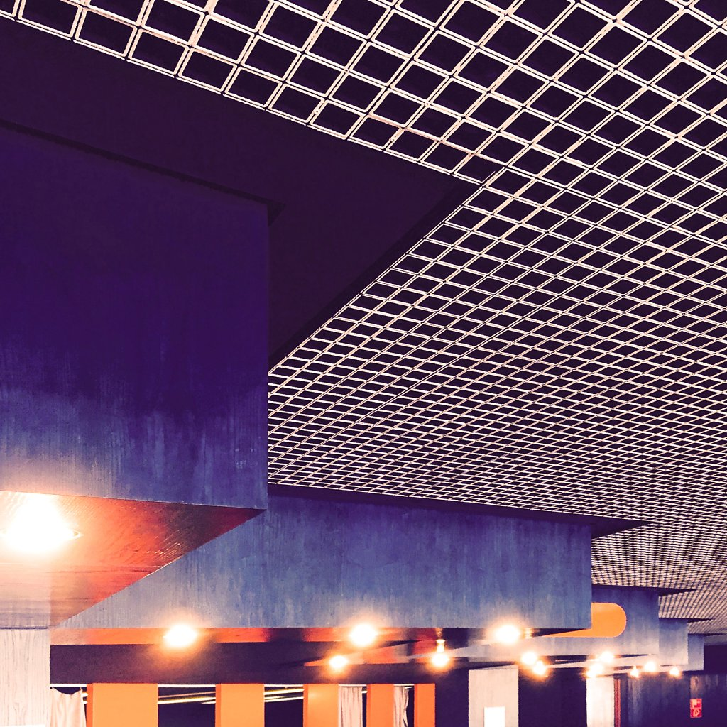 70s convention hall